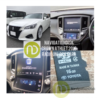 toyota crown sd map card for radio