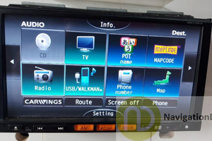 Nissan MM113DA English Deck SD Map card for to enable all features of deck