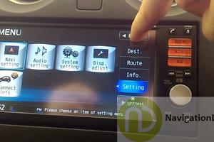 Nissan Xtrail MM312D-W English SDHC Map Card