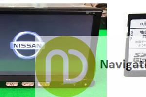MP311D-A SD Nissan Navigation Map Card