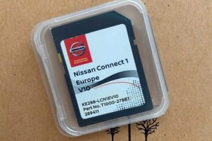 Nissan Connect 1 Europe | Volume 10 (V10) | KE288-LCN1EV10 |Part Number : T1000-27887