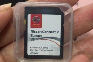 Nissan Connect 2 Europe SD Map Card | Part Number : T1000-27891