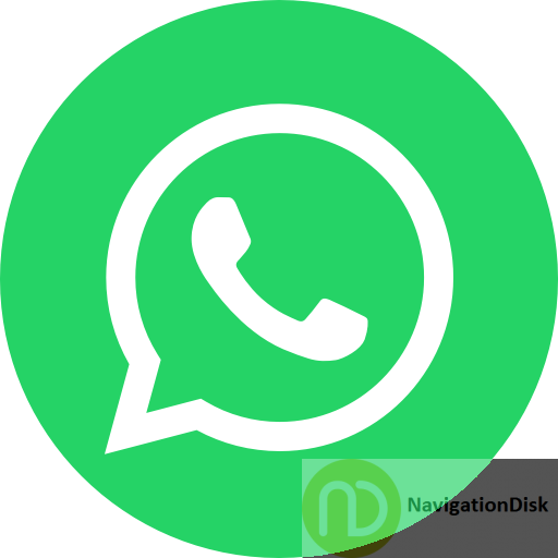 Circle, logo, media, network, social, whatsapp icon - Free download