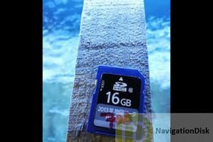 Panasonic CN-LR720D  SD map Card for Subaru WRX official