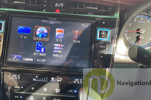 ALPINE EX900V-ES | EX900V Navigation Radio Map SD Memory Card for Harrier