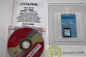 ALPINE 9 inch SD Navi EX900 Genuine Map Card – 2017