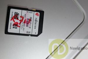 ECLIPSE AVN R7W Navigation Map SD Card